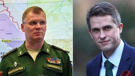 """Rusko se chystá napadnout Británii? """"Komický nápad,"""" směje se Kreml"""