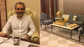 Bohatý princ a televizní miliardář se v Saúdské Arábii dostali ven z vazby