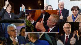 Zeman při výhře zesměšnil Drahoše, naznačil expert. Sebral mu gesto kampaně