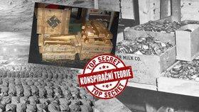 Na stopě ztraceného nacistického pokladu: Ukradli zlato za miliardy Američané? Má v tom prsty CIA!