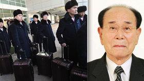 KLDR posílá na olympiádu Kim Jong-nama. Formálně nejvyššího státního činitele