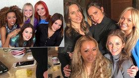 Spice Girls si uřízly ostudu: Co je to za šmouhu na mobilu?