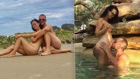Čeští nudisté Linda a Filip jsou hvězdami internetu: Svlékají se pro 50 tisíc lidí!