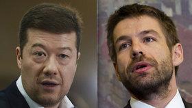 Okamura podá trestní oznámení na ministra Pelikána. Ten hrozí kvůli SPD odchodem z vlády