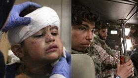 """""""Na města stále dopadají bomby."""" Uprchlíci se děsí nuceného návratu do Sýrie"""