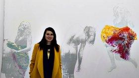 Příroda, les i narození syna: Výstava tří umělkyň připomíná, jak je důležité hledat v životě pevný bod