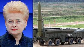 """""""Je to hrozba pro půl Evropy."""" Rusko umístilo nové balistické rakety u Kaliningradu"""
