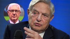 Drahošův dezinformační stín Soros: Daroval miliony na kampaň proti brexitu