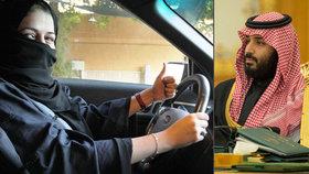 Korunní princ pouští ženy za volant, bar i na tribuny. Saúdky zažívají nové časy