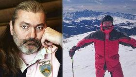 Smolař Daniel Hůlka: Úraz na lyžích! Režisér Adamec je na prášky