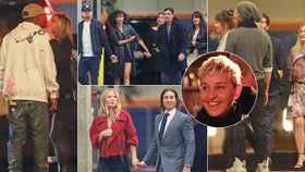 Šedesátiny moderátorky Ellen DeGeneres: Davy celebrit jako na Oscarech!