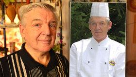 Jaroslav (71) vařil v nejvyhlášenějších podnicích Prahy i na spartakiádě. Vzpomíná na řepánky i kuře s broskví