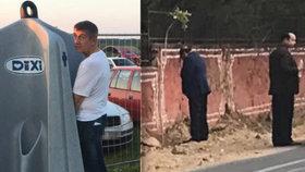 Fotka usvědčila ministra z močení na veřejnosti. Čechům to už ukázal premiér
