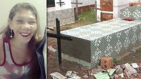 Ženu (†37) pohřbili zaživa! V hrobce se probrala a 11 dní bojovala o život