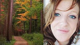 Záhadná smrt těhotné ženy (†27) v lesích: Tělo se našlo po dvou týdnech pátrání