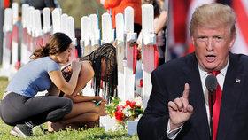 Trump chce po masakru vyzbrojit učitele, měli by prý zastřelit útočníka. Ti se brání