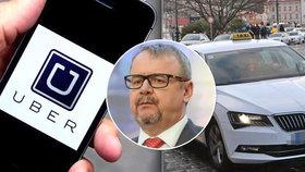 Ťok k Uberu: Taxikáři si vyrobili konkurenci a teď chtějí, abychom to řešili