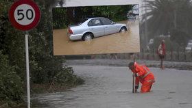 Bouře odřízla 6 tisíc lidí. Ráj z Pána prstenů zatopila ničivá voda