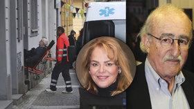 Režisér Juraj Herz v nemocnici: Zákaz návštěv i pro Havlovou!