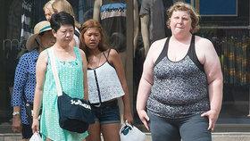 Fotografka testovala, jak okolí reaguje na obezitu. Co zjistila?