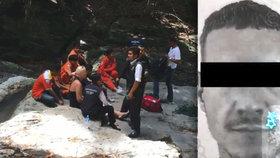 """Kamarádi smutní za Jirku, který se zabil v Thajsku: """"Ať se ti na druhé straně daří, jednou se tam všichni potkáme."""""""
