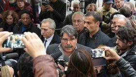 V Praze zadrželi bývalého vůdce syrských Kurdů. Hledal ho Interpol