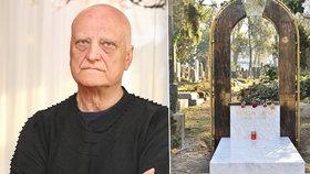 Bořek Šípek (†66) se dva roky po smrti dočkal: Hrob za 250 tisíc!