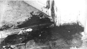 Vrah útočil v kuchyni a pak i v ložnici.