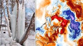 V Česku je mrazivěji než na Arktidě. Severní pól hlásí letních 0 °C