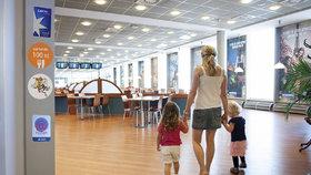 Občerstvení na pražském letišti? Dobrý oběd do 100 korun!
