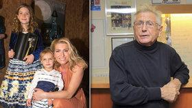 Menzelová vyvedla dcerky: Starší je celý tatínek Brabec, mladší má kukadla po mamince