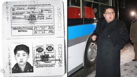 Kim Čong-un s otcem měli brazilské pasy s razítkem z Prahy. Počítali s pádem režimu?
