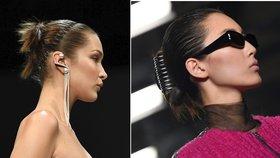 Devadesátkové trendy ve vlasech  Opět jsou v módě skřipce b463a397e0