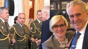 Šlechtová po návštěvě na Hradě oznámila: Mám nového náčelníka, Zeman je s ním spokojený