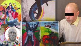 Chtěl udělat radost přítelkyni, zničil obrazy za miliony: Kastelán z Valtic dostal podmínku