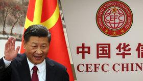 Zvládne splatit dluhy? V Číně se hraje o budoucnost CEFC, jejíž exšéf radí Zemanovi