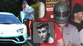 Justin Bieber slavil 24: Dostal nové lamborghini!