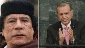 Erdogan se dere do čela muslimů v Africe. Naváže na Kaddáfího a máme se bát?