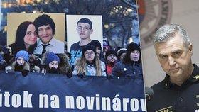 """Vražda Kuciaka: Šéf policie odmítl """"varování z Itálie"""". Rakušané mluví o krytí mužů v pozadí"""