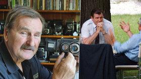 Fotograf hvězd Jef Kratochvil (†74) podlehl rakovině: Přes plot zachytil schůzku Klause s Mečiarem