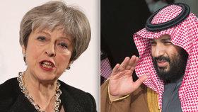 Saúdský princ v Británii budí protesty. Tvrdí, že Londýnu pomůže v boji s terorismem
