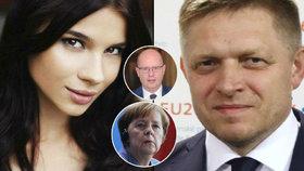 Ficova Mária na schůzce s Merkelovou. Němci byli ostře proti: Věděli o vazbách na mafii?
