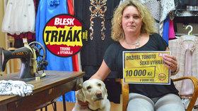 Dámská krejčová Michaela Dvořáková (41) na výhru v Trháku: 10 tisíc! To je legrace?