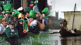 V Irsku byly zahájeny oslavy Dne svatého Patrika.