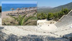 Peloponés: Koupání na dosah antických památek