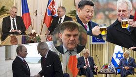 Zeman dál prahne po setkání s Trumpem. Víme, kdy vyrazí na Slovensko. A co Rusko a Čína?