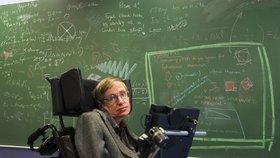 Kolečkové křeslo fyzika Stephena Hawkinga se vydražilo za 8,8 milionu korun