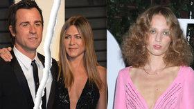 Smutná Jennifer Aniston: Justin Theroux už za ni má o 20 let mladší náhradu