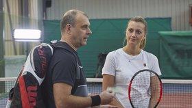Tenistka Petra Kvitová v Ordinaci: Rychlému vytkla pár chyb!