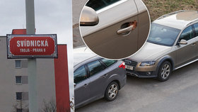 """Bohnice mají svého """"fekálního fantoma""""! Psí výkaly maže na kliky zaparkovaných aut. Může dostat pokutu"""